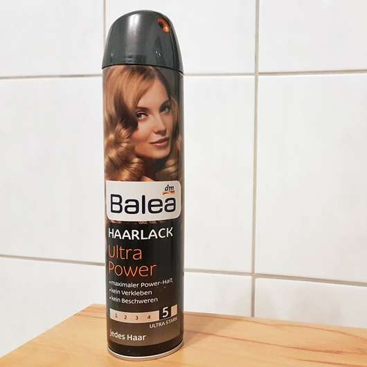 Balea Ultra Power Haarlack (Ultra Stark) Design