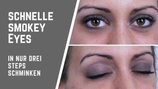 Smokey Eyes in 3 Steps