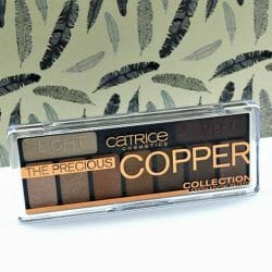 Produktbild zu Catrice The Precious Copper Collection Eyeshadow Palette – Farbe: 010 Metallux