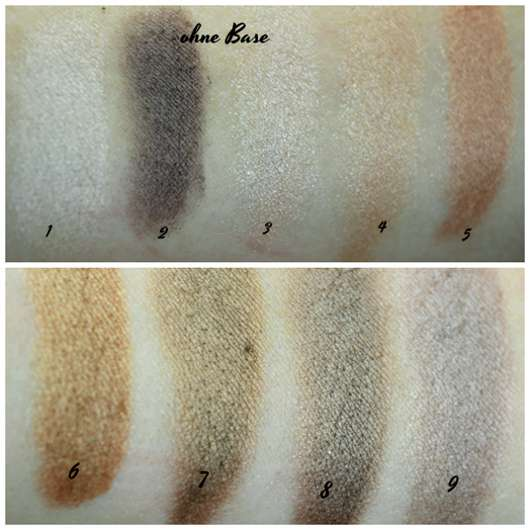 Catrice The Precious Copper Collection Eyeshadow Palette, Farbe: 010 Metallux - swatches