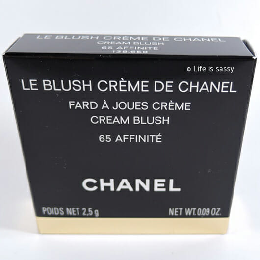 <strong>Chanel</strong> Cream Blush - Farbe 65 Affinité