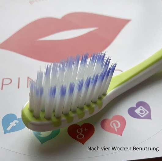 DONTODENT Soft Protection Zahnbürste nach vier Wochen Anwendung