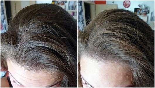 Douglas Hair Tinted Dry Shampoo, Farbe: Brown Hair - Haare vorher nachher