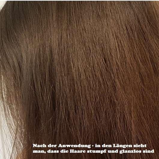 Douglas Hair Tinted Dry Shampoo, Farbe: Dark Hair nach der Anwendung
