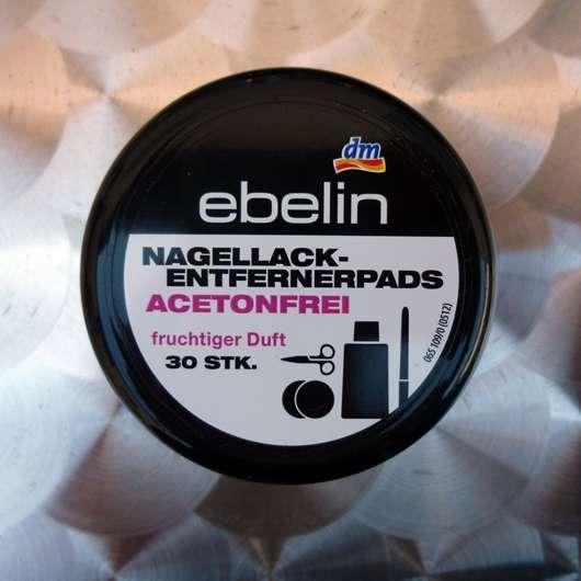 <strong>ebelin</strong> Nagellackentfernerpads acetonfrei fruchtiger Duft (30 Stk.)