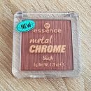 essence metal chrome blush, Farbe: 30, the beauty and the bronze