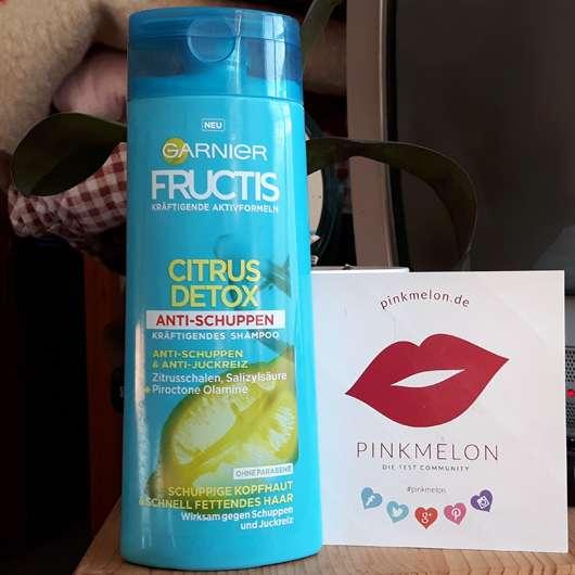 Garnier Fructis Citrus Detox Anti-Schuppen Kräftigendes Shampoo