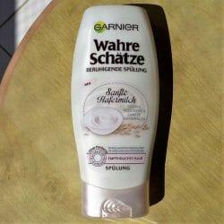 Produktbild zu Garnier Wahre Schätze Sanfte Hafermilch Beruhigende Spülung