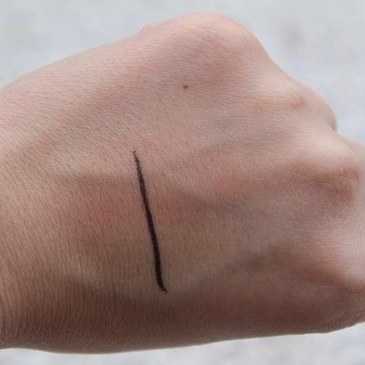 Swatch des L.O.V BestDressed 12H Long-Wear Eye Pencil, Farbe: 200 Marvellous Onyx