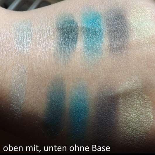 Swatches der LR Colours Limited Eyeshadow Palette