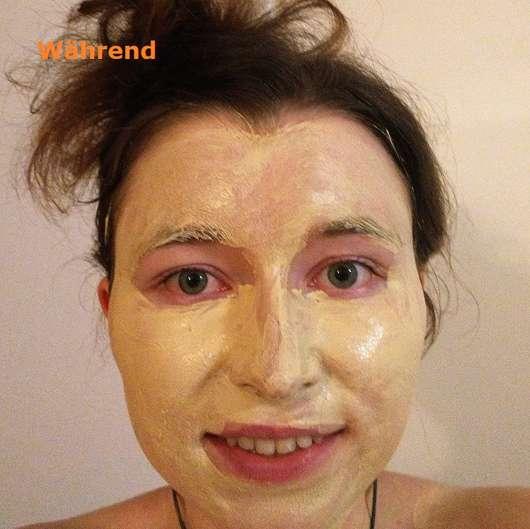 Luvos Heilerde SOS-Detox Maske Anwendung