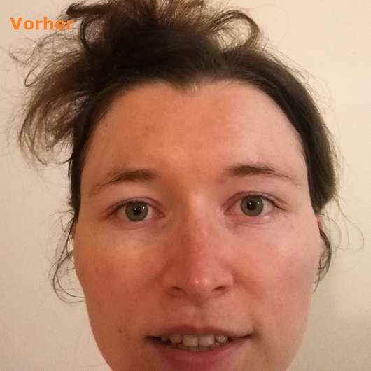 Luvos Heilerde SOS-Detox Maske vorher