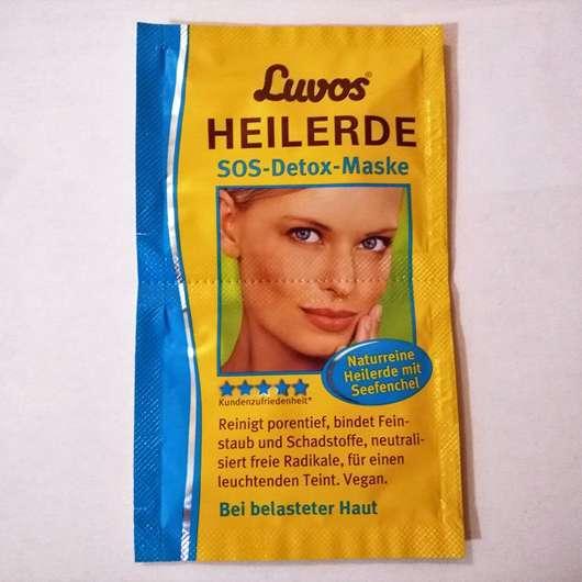 Luvos Heilerde SOS-Detox Maske Sachet