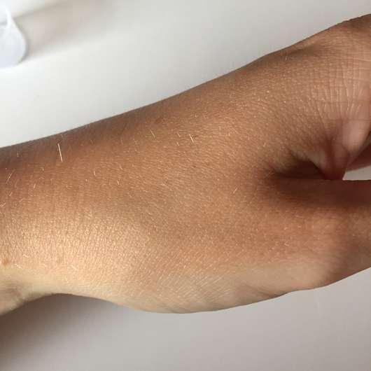 "MALU WILZ Body Fragrance ""Green Tea Fusion"" - Haut nach dem Einziehen"