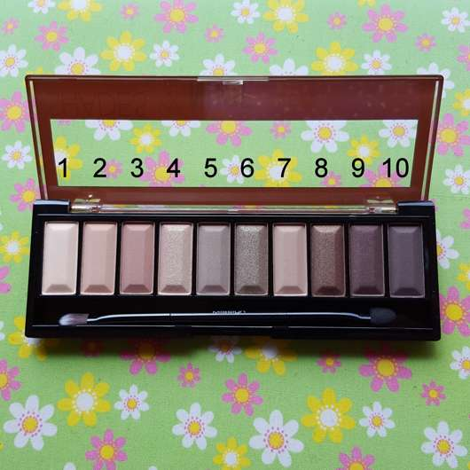 Misslyn must-have eyeshadow shades, Farbe: 4 shades of nude Nuancen