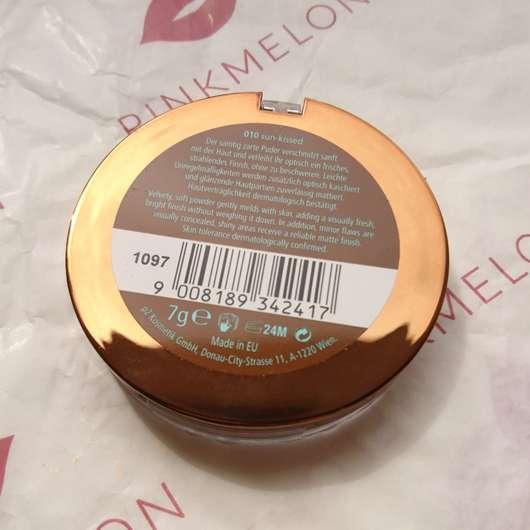 p2 bohemian tropics summer of love bronzing powder, Farbe: 010 sun-kissed (LE) Herstellerangaben