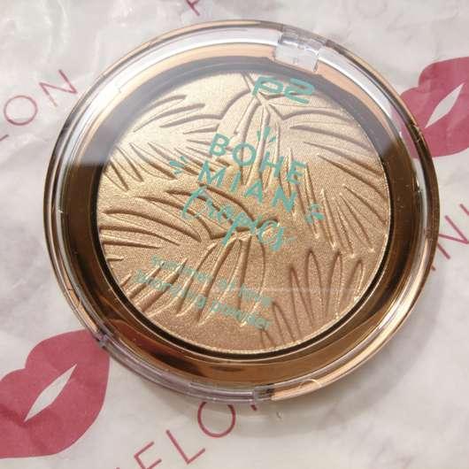 p2 bohemian tropics summer of love bronzing powder, Farbe: 010 sun-kissed (LE) Design