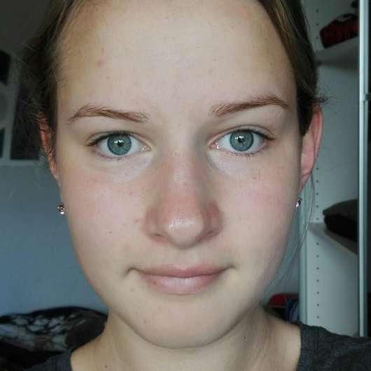Gesicht nach der Anwendung der Terra Naturi Reinigung Sante Reinigungsmilch Aloe Vera