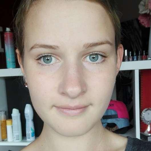 Gesicht vor Anwendung der Terra Naturi Reinigung Sante Reinigungsmilch Aloe Vera