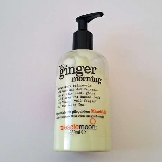 treaclemoon one ginger morning körpermilch