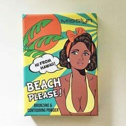 Produktbild zu Misslyn Beach Please! Bronzing & Contouring Powder – Farbe: 65 Hi From Hawaii! (LE)