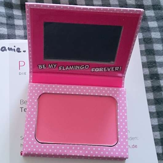 Verpackung vom Misslyn Treat Me Sweet Powder Blush, Farbe: 08 Be My Flamingo Forever