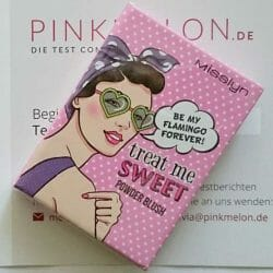 Produktbild zu Misslyn Treat Me Sweet Powder Blush – Farbe: 08 Be My Flamingo Forever