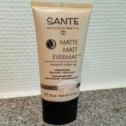Produktbild zu SANTE Matte Matt Evermat Mineral Make up – Farbe: 01 Natural
