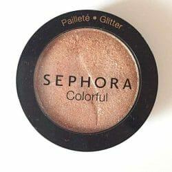Produktbild zu Sephora Colorful Lidschatten – Farbe: 232 Girl Talk (Glitter)