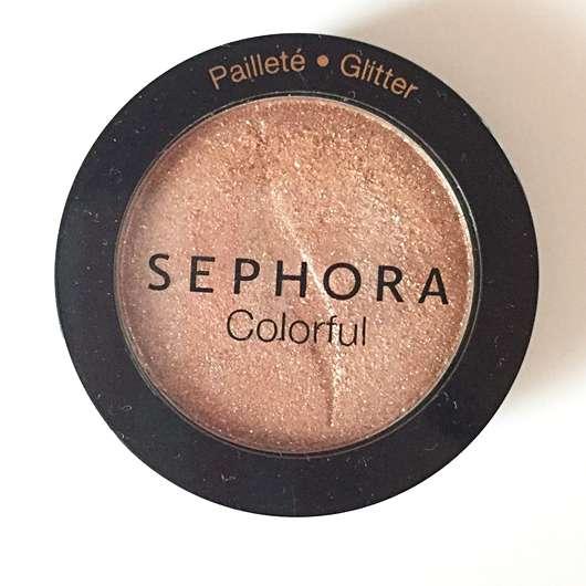 Verpackung des Sephora Colorful Lidschatten, Farbe: 232 Girl Talk (Glitter)