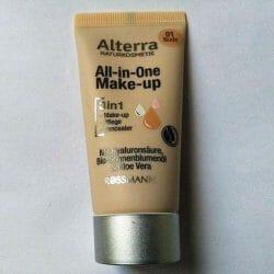 Produktbild zu Alterra Naturkosmetik All-in-One Make-up – Farbe: 01 Nude