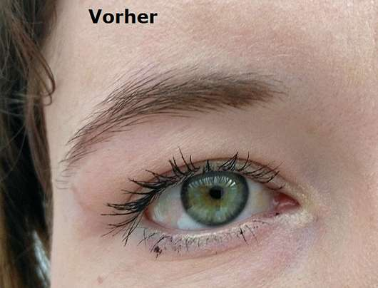 alverde Make-up-Korrekturstift - Mascara Patzer am Auge