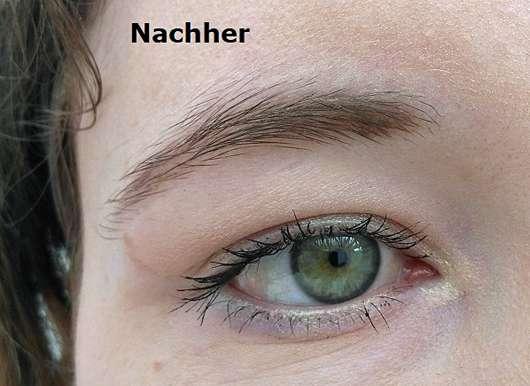 alverde Make-up-Korrekturstift - Mascara Patzer am Auge mit Stift korrigiert