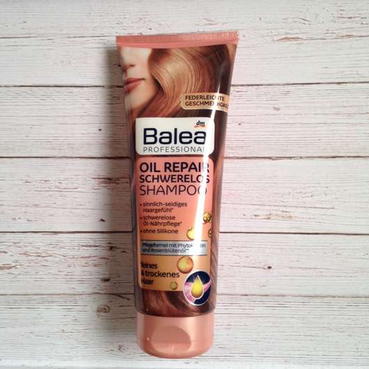 Balea Professional Oil Repair Schwerelos Shampoo