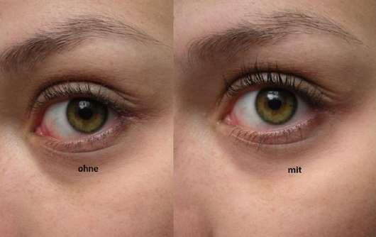 benefit They're Real Mascara Tinted Primer Mini vorher und nachher