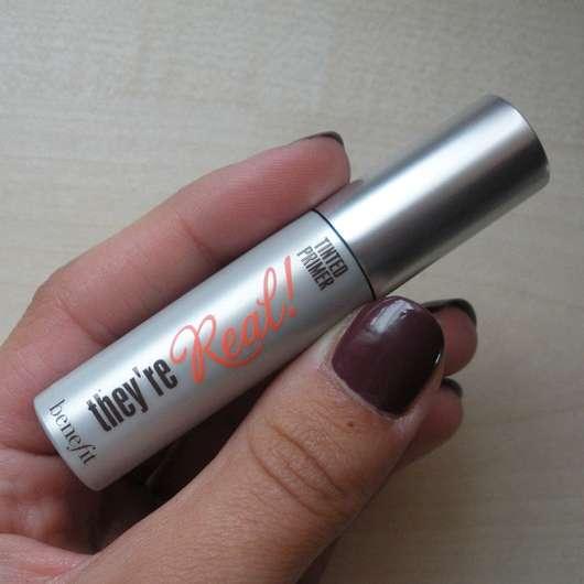 benefit They're Real Mascara Tinted Primer Mini Größe und Design