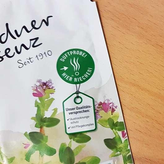 Dresdner Essenz Gesundheitsbad Abwehrkräfte Duftprobe