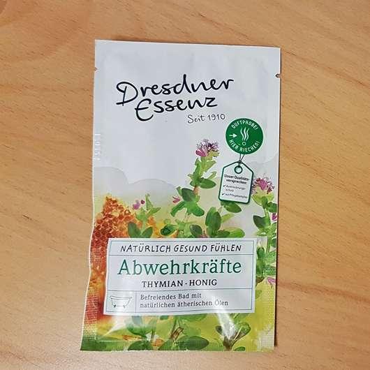 Dresdner Essenz Gesundheitsbad Abwehrkräfte Sachet