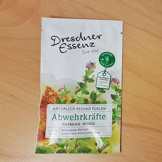 <strong>Dresdner Essenz</strong> Gesundheitsbad Abwehrkräfte