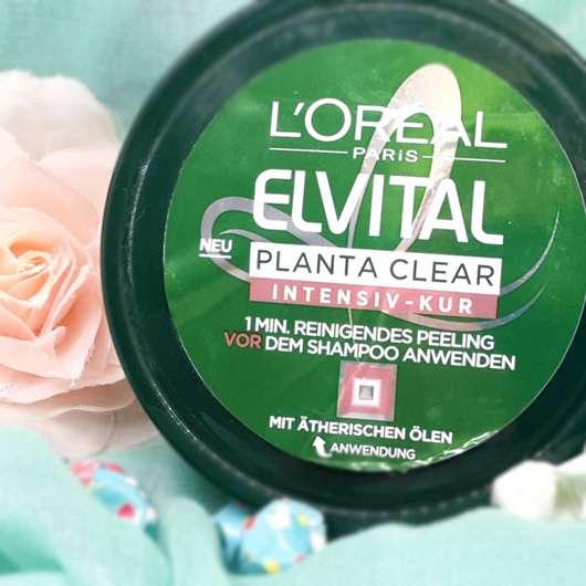 <strong>L'ORÉAL PARiS Elvital</strong> Planta Clear Intensiv-Kur 1 Min. Reinigendes Peeling