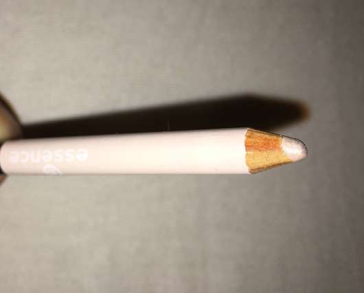weiße Mine des essence sculpting eye pencil, Farbe: 10 black to white
