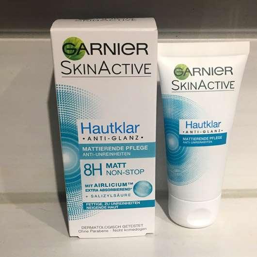 <strong>Garnier SkinActive</strong> Hautklar Anti-Glanz Mattierende Pflege