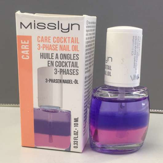 Misslyn Care – Care Cocktail 3-Phase Nail Oil