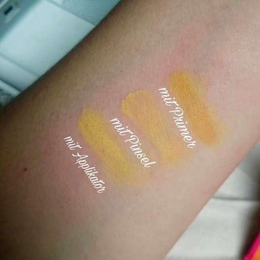 Misslyn Eye-Mazing Eyeshadow Set, Farbe: Oh So Bright! - Swatches