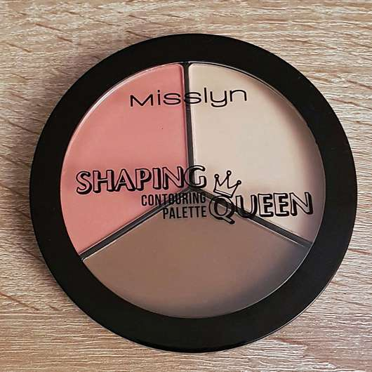 <strong>Misslyn</strong> Shaping Queen Contouring Palette - Farbe: 6 (LE)