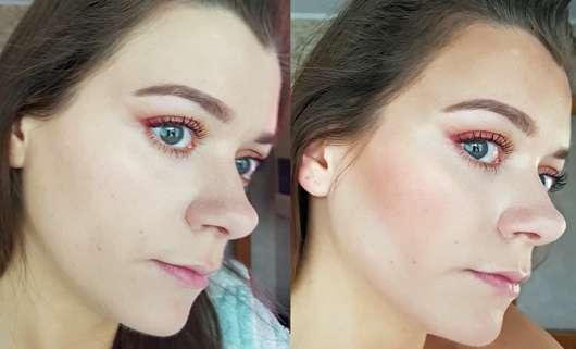 Misslyn Shaping Queen Contouring Palette - im Gesicht aufgetragen