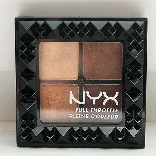 <strong>NYX</strong> Full Throttle Shadow Palette - Farbe: FTSP 01 Daring Damsel