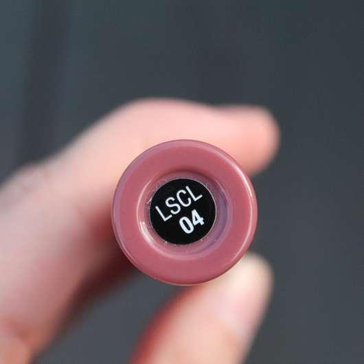 Unterseite - NYX Liquid Suede Cream Lipstick, Farbe: 04 Soft Spoken