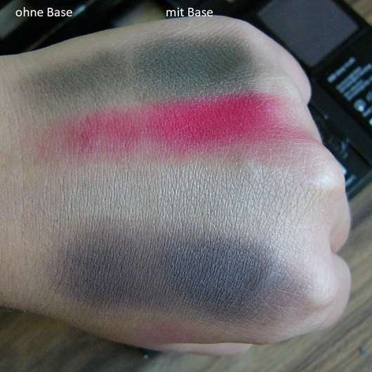Swatches - p2 blogger's loveys by designdschungel do-it-yourself palette (LE)