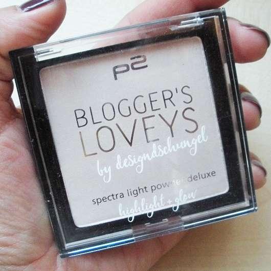 p2 blogger's loveys by designdschungel spectra light powder deluxe highlight + glow (LE) Design